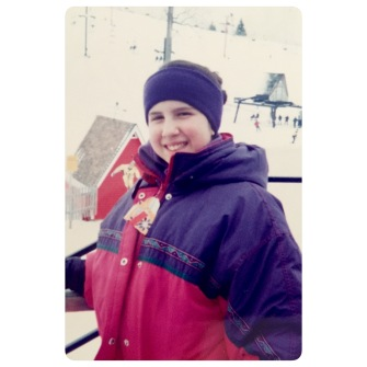 Skiing in MI on a field trip
