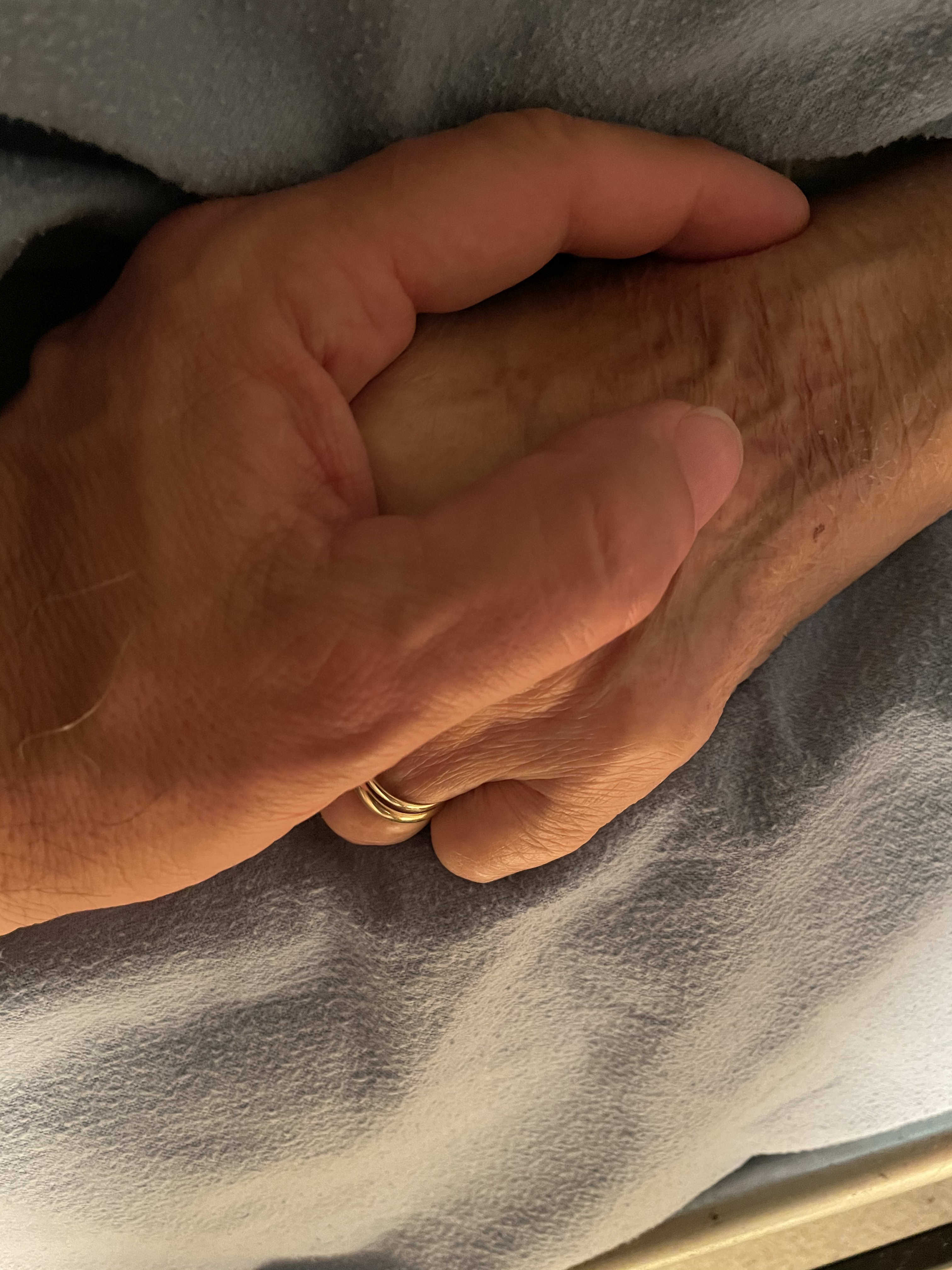 Mom Holding hands